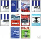 West Brom WBA 1968 FA Cup Programme Trading Card Set