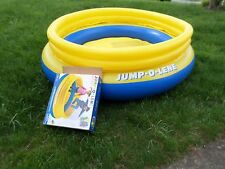 Jump-O-Lene inflatable trampoline indoor/outdoor bouncer toy