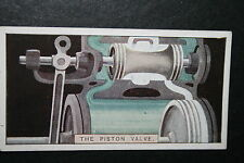 Steam Locomotive Piston Valve    Vintage Card   VGC