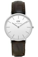 Daniel Wellington Watch * 0211DW Classic York 40MM Croc Brown Leather COD PayPal