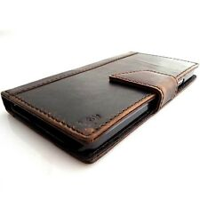 genuine real 100% leather Case For lg g2 book wallet handmade slim G 2 id 2g