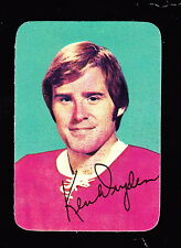 1976-77 TOPPS GLOSSY INSERTS #5 KEN DRYDEN CANADIENS