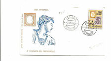 1962 Italy unaddressed FDC   stamp on stamp