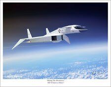 "North American XB-70 Valkyrie Aviation 11"" x 14"" Art Print"