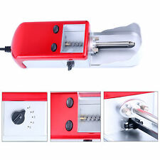 Red Cigarette Rolling Machine Tobacco  Electric Automatic Roller Injector Maker