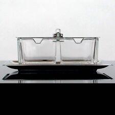 WMF MID CENTURY CROMARGAN PRESERVE JAR ~ Cruet BOX ~ COOKIE JAR WAGENFELD