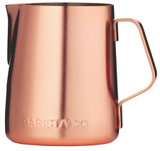 BARISTA & CO Copper Milk Jug 350ml - Brand New