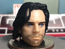 MARVEL LEGENDS PAINTED CIVIL WAR MCU BUCKY HEAD CAST 1:12 FOR 6 IN FIGURE