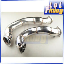"Racing High Performance 3"" Catless Downpipe BMW N54 135I 335I E82 E90 E92"