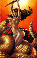 CAVEWOMAN CASTAWAY  #1 BUDD ROOT Special Edition NUDE Cover E Nice! NM New AMRYL