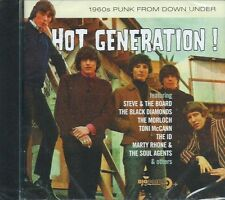 HOT GENERATION - 1960s AUSTRALIA PUNK GARAGE ROCK 30-track COMP BIG BEAT SLD CD