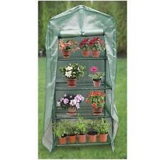 """4-Tier Mini Greenhouse 27""""x 18""""x 63"""" Plants, Seeds, Garden, Grow, Indoor Outdoor"""