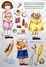 MARY ENGELBREIT Paper Doll, Little Red Riding Hood ,  June/July 2008, Uncut