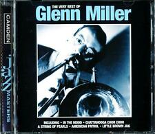 GLENN MILLER: VERY BEST OF  - CAMDEN JAZZ MASTERS CD (1997) 18 TRACKS