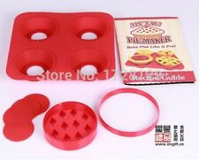 Silicone Mold Mini Muffin Pan Bakeware Fruit Tart Pie Lattice Cutter Baking Set