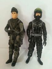 "ASSORTED MILITARY: 4"" Action Figure Bundle x2, Collectible"