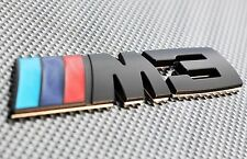 M3 BLACK METAL 3D EMBLEM BADGE STICKER DECAL FOR BMW 3 SERIES M3