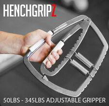 Super Heavy Duty Hand Grip Exerciser Muscle Fat Gripper Adjustable 45-350 lbs