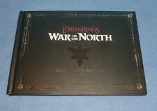 Lord of the Rings WAR IN THE NORTH Collector's Edition Art Book & Music CD Pax