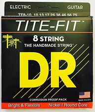 DR Tite Fit TF8-10 Electric Guitar Strings 8-String set gauges 10-75