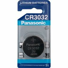 4 x Panasonic CR 3032 Lithium Blister Verpackt 3V Knopfzelle BR3032 DL3032