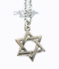 """Silver Star Of David Necklace for 18"""" American Girl Doll Clothes"""