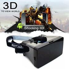 """Virtual Reality 3D Video Glasses for 4-6"""" inch Smartphones Google Cardboard TL"""