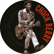 Parche imprimido, Iron on patch, /Textil sticker, Pegatina/ - Chuck Berry