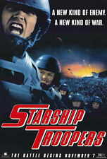 STARSHIP TROOPERS Movie POSTER 27x40 B Casper Van Dien Dina Meyer Denise