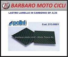 POLINI SET LASTRE IN FIBRA CARBONIO MM.110X110 SP.0,35 MOTO SCOOTER 213.0601