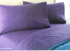 Your Zone Purple Star Full Sheet Set Super Soft Bedding NEW Comfortable
