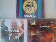 3 x Tin Tin Out CDs Single collection Emma Bunton Shelley Nelson Espiritu