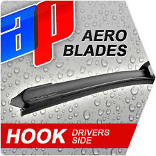"22"" Front Aero Flat Driver Wiper Blade Ford Mondeo 2.0 Tdci Qf16453"