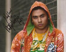 EASTENDERS * RICKY NORWOOD ' FATBOY ' SIGNED 10X8 PORTRAIT PHOTO+COA