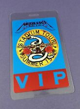 Metallica Original Backstage Pass - Stadium Tour 1992 - Unused Stock !