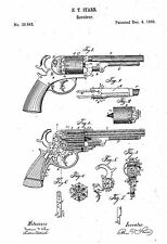 Starr Revolver - Copy of Patent dated 1860