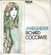 "RICHARD COCCIANTE 7""PS Spain 1976 Margherita"