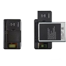 Travel Wall Battery Charger For Mobile Phone Universal Black LCD Indicator Hot