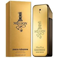 1  MILLION by PACO RABANNE 100 ml Eau de Toilette Spray For Men (free delivery)