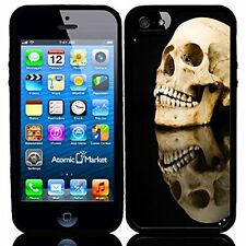 Dark Evil Skull Reflection For Iphone 6 Case Cover