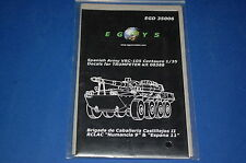 Egys 35006 - Spanish Army VRC-105 Centauro Decals for Trumpeter Kit scala 1/35