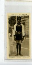 (JC9971-100)  MITCHELL,OUR EMPIRE,MOMBASA,TRAFFIC POLICEMAN,1937,#14