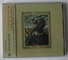 KING CRIMSON ‎– Level Five JAPAN CD RAR! PCCY-01576