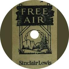 Free Air, a Sinclair Lewis Aristocrat vs. Commoner Action Audiobook on 1 MP3 CD