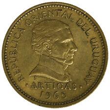 URUGUAY 1 PESO 1965 #4748A