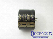 ELNA 35V 2200UF Snap in ROA Cerafine Low Profile HI-FI For Audio Capacitor
