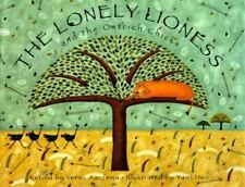 The Lonely Lioness and the Ostrich Chicks-ExLibrary