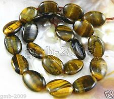 """Natural 13X18mm Oval African Roar Tiger's Eye Stone Loose Beads strand 15"""""""
