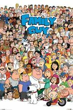 "FAMILY GUY - TV SHOW POSTER / PRINT (ALL CHARACTERS) (SIZE: 24"" X 36"")"