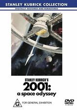 2001 - A Space Odyssey - Kubrick Collection [DVD], Region 4, Fast Post....6538